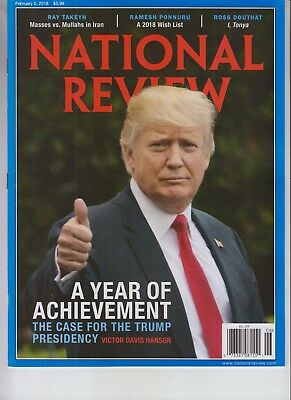 Donald Trump The National Review Magazine Year Of Achievement February 5 2018