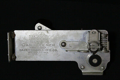 Vintage Wall Mount Dazey Senior Can Opener Dazey Churn Co St Louis Mo