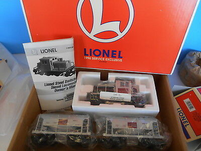 Lionel 11912 Diesel Switcher Set W/ Ore Cars And Add On Car..mint In Box W /tmcc