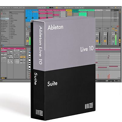 Ableton LIVE 10 SUITE - Music Production Software, DAW (Boxed)