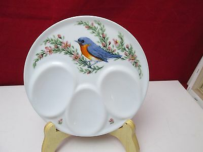 Bluebird Kitchen Spoon Rest Porcelain Triple Resourceful Products NWT