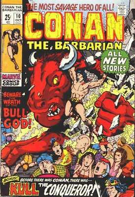Conan the Barbarian (1970 series) #10 in Very Good + condition. FREE bag/board