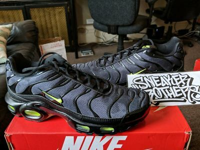 3de50d7ec263 Nike Air Max Plus SE TN Tuned 1 Neon Black Volt Glow Wolf Dark Grey AJ2013