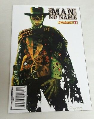 The Man With No Name #1 Arthur Suydam Zombie Variant Cover Dynamite Comics VF
