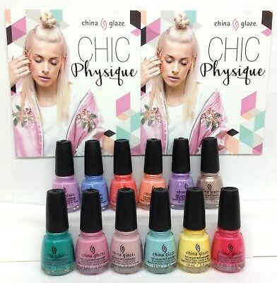 China Glaze Nail Lacquer - CHIC PHYSIQUE Collection SPRING 2018 - Pick Color