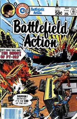 Battlefield Action #71 in Fine + condition. FREE bag/board