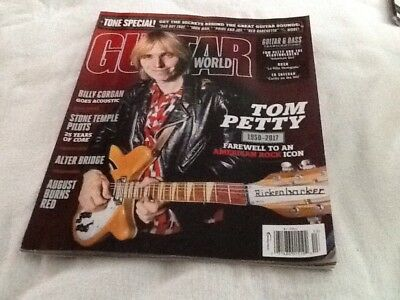 GUITAR World Magazine TOM PETTY 1950 2017farewell To An American Rock