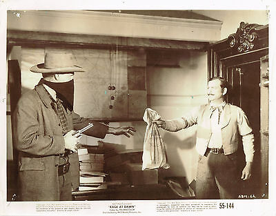 Rage at Dawn 1955 8x10 black & white movie photo  #62 western
