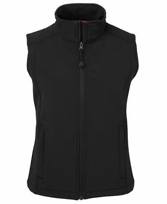 Jb's wear Ladies Layer Soft Shell Vest Urban Fit Mobile Phone & Zip up Pockets