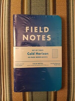 Field Notes Cold Horizon Sealed Pack