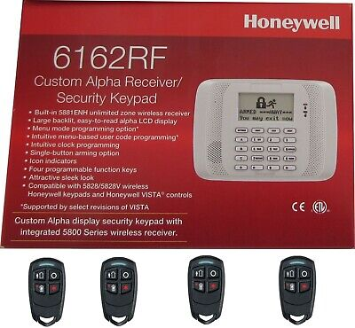 Honeywell 6162RF Keypad w/ 5881ENH Receiver