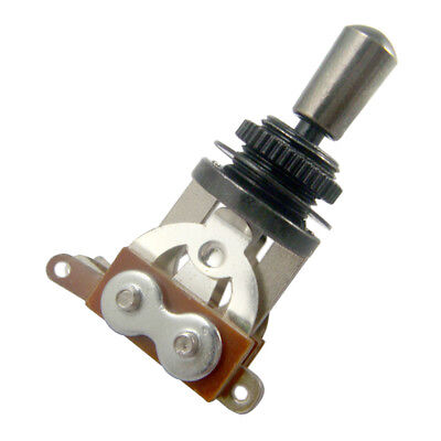 Guitar 3 Way Toggle Switch Pickup Selector with Tip Knob for Les Paul Guitar