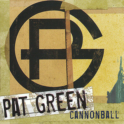 Pat Green Cannonball RARE promo sticker '06