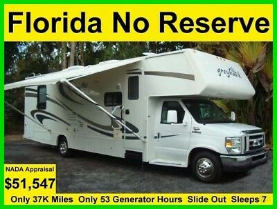 No Reserve 2008 Jayco Greyhawk 31Ft Slide Out Class C Rv Motorhome Camper