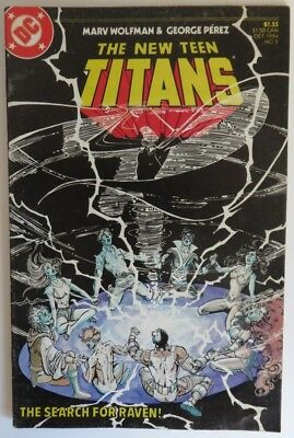 1984 The New Teen Titans #2  -    Vg                        (Inv16541)