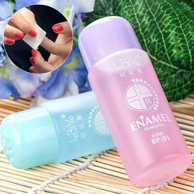 60ml Fruit Smell Easy To Remove Soak Off Artificial Nail Polish Remover