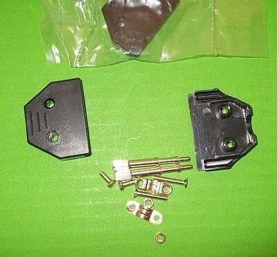 Dee Cover 15 Way Hood D Back-Shell Black CT15 -FE Thumb Screws CEEP x 2 pcs ONO