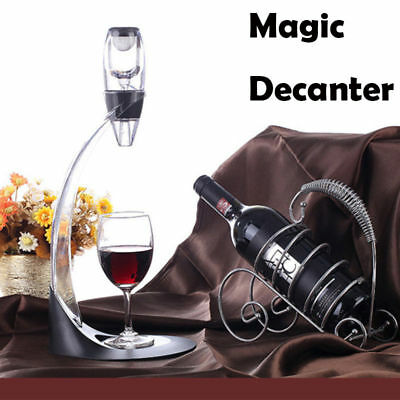 Premium Red Wine Aerator Magic Decanter Essential Sediment Filter Pouch