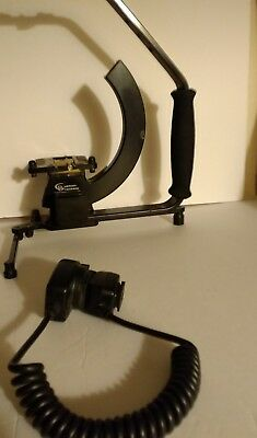 Custom Brackets Digital Pro-e Rotating Camera Bracket Canon Off Camera Shoe Cord
