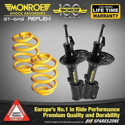 Front Lowered Monroe Shock Absorbers King Springs MITSUBISHI COLT RB RC RD RE