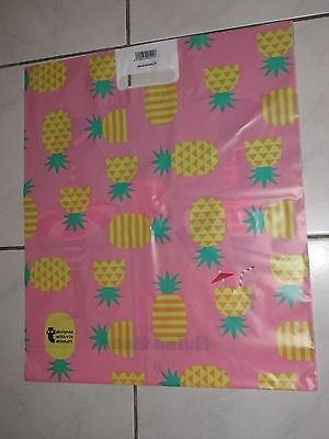 Plastiktüte Bag Medium flying tiger Ananas Copenhagen Tüte Sammler RAR Holland