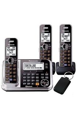 Panasonic Digital Cordless Phones KX-TG7893 Free Shipping