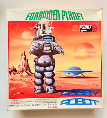 ROBBY THE ROBOT Comet Miniatures Limited Edition Injection Model Kit Rare New
