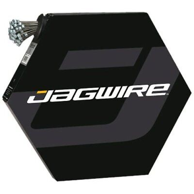 Jagwire Basics Set of 100 Stainless Steel Gear Cables 1.2 x 2300 mm Compatible w