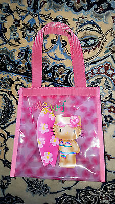 Hello Kitty surft in HAWAII / Hibiskus- Tasche, Original Sanrio, NEU !
