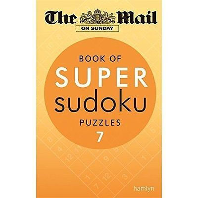 The Mail on Sunday: Book of Super Sudoku Puzzles 7, New Books