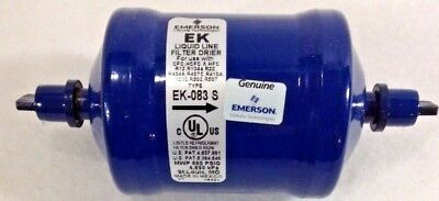 Emerson EK 08 3 S Extra Klean Liquid Line Filter Drier R-104A Inlet Outlet 3/8""