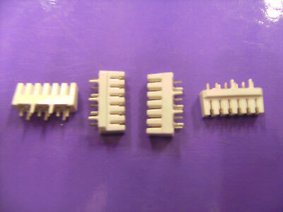 30 PIECES OF 4mm IDC 6 WAY CONNECTORS FOR PCB