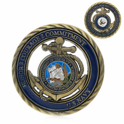 U.S. Navy Limited Edtion Cutaway Challenge Coin FREE SHIPPING