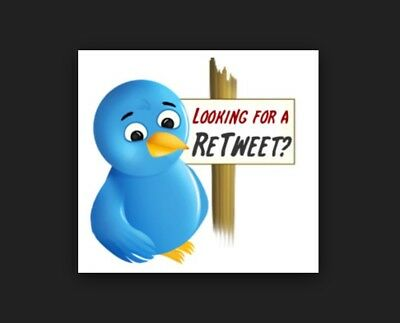 Retweet your products or website or to 12,500 followers Marketing Advertising