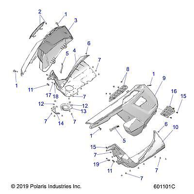 Body Parts Snowmobile Parts Parts Accessories Ebay Motors Page