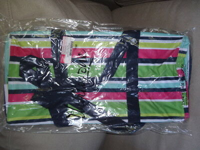 THIRTYONE Thirty One 31 Gifts LARGE UTILITY TOTE Brand New - Preppy Pop