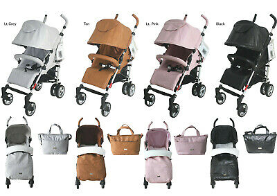 NEW-Massimo-II Leatherette Stroller Pram Pushchair