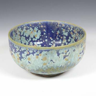 Chinese Porcelain Blue Bowl Glazed Pottery Ceramics China Late 19Th Early 20Th C