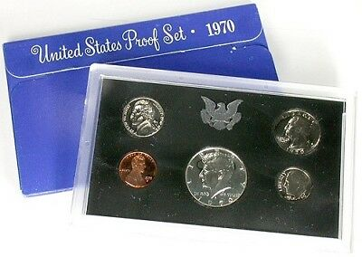 (1) 1970 United States Mint Proof Set in Original Box