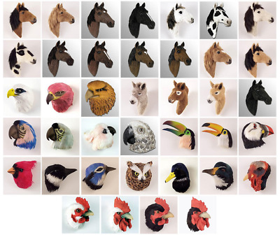 (5) Farm Birds Including Chickens, Roosters, Turkeys, Etc.-Feather Magnets.