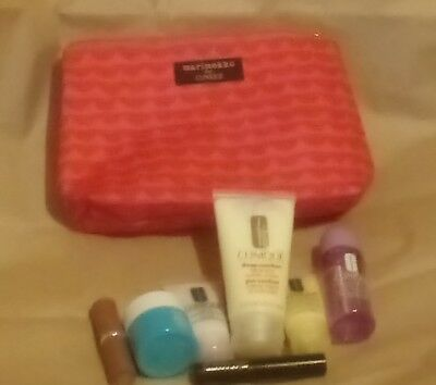 Clinique gift set - Marimekko for Clinique : Wash Bag & 7 Clinique Products New