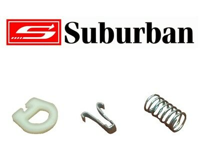 Suburban Hot Water System Door Latch Clip - HWS Spare Parts - Caravan, pop top