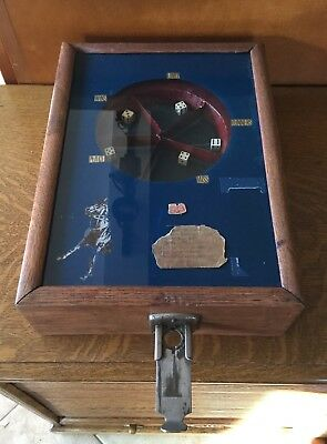 Antique 1920's Counter Top Dice Horse Race Trade Stimulator 5 Cent Game