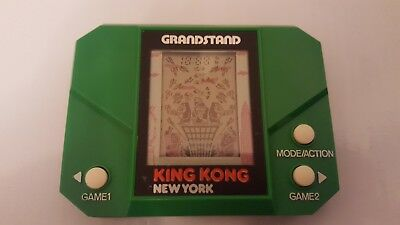 King Kong New York grandstand LCD game and watch, retro rare