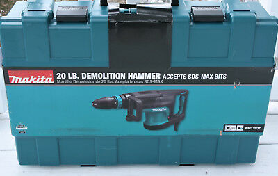 MAKITA HM1203C 20lb DEMOLITION HAMMER ! NEW IN BOX ! NO RESERVE ! WOW !