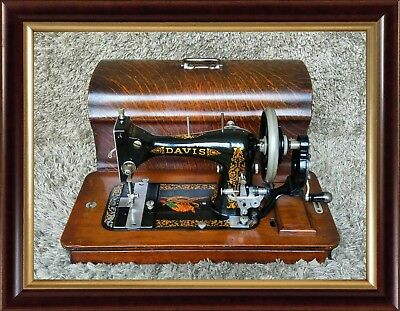 🔶 Rare | Davis Model T | Antique Sewing Machine | Dayton Ohio USA 1915