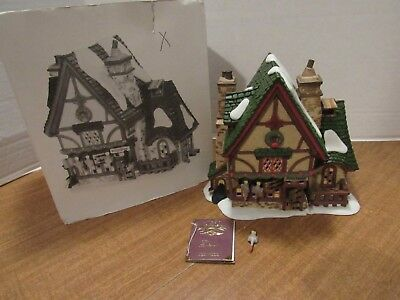 Dept 56 Dickens Leacock Poulterer Christmas Carol Revisited #58303 Small Flaw
