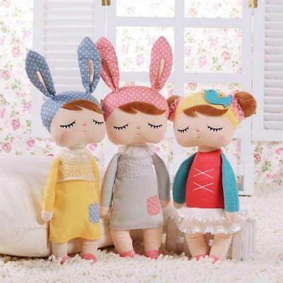 Lovely Stuffed Metoo Angela Plush Sleeping Girl Bunny Rabbit Baby Doll Kids Gift