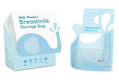 Little Martin's Breast Milk Storage Bags, BPA Free, 60 Count FREE SHIPPING