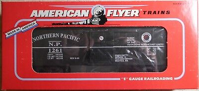 American Flyer S Gauge Tca Northern Pacific Boxcar--Item #6-48492--Nib
